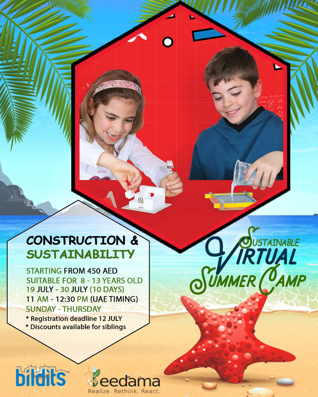 SUMMER CAMP BUILD IT